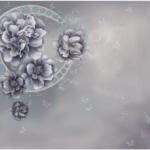 JP36-BLUE花美月圆